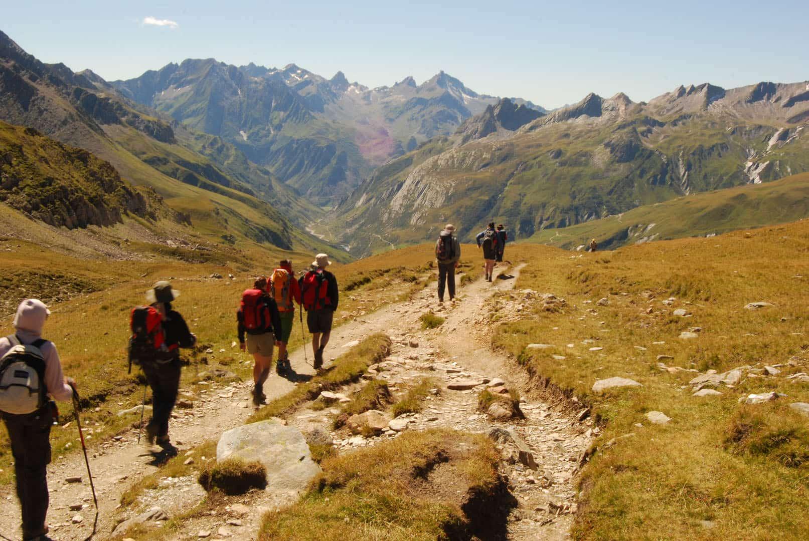 Col de la Seign TMB - Tour du Mont Blanc- Family