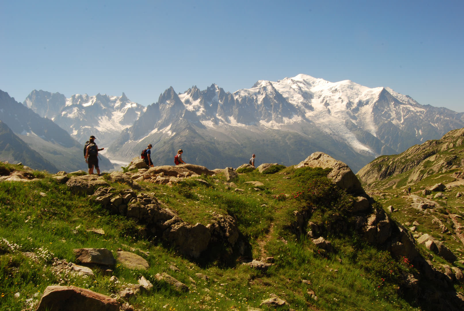 Mont Blanc - Tour du Mont Blanc- Fear of Heights
