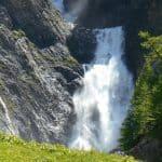 Location of the Tour du Mont Blanc