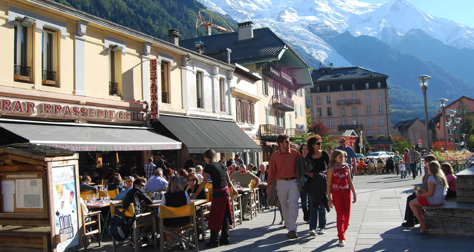Villages on the Tour Du Mont Blanc